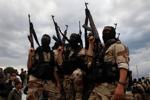 Одичавшие боевики взорвали автобус с полицейскими: четыре трупа, множество раненых