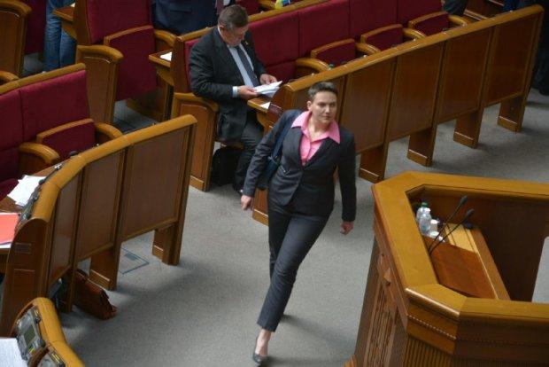 Савченко принесла в Раду гранат