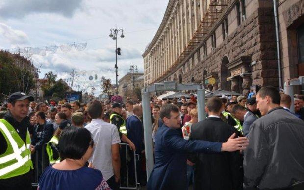 День Незалежності: парад, тиснява і сивий Кличко