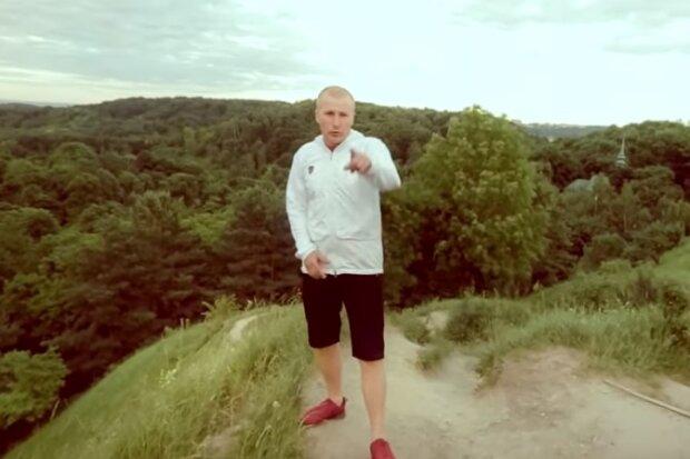Славко Святинчук, скриншот видео
