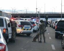Затримання злочинця на Київщині, Уніан