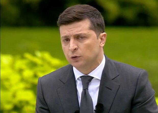 Пресконференція Володимира Зеленського, скріншот