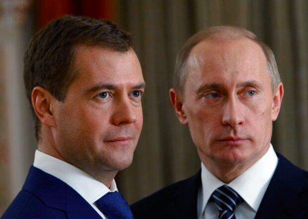"""Медведев подло выдал двойника Путина, теперь знают все: """"Какого-то мелкого подобрали"""""""