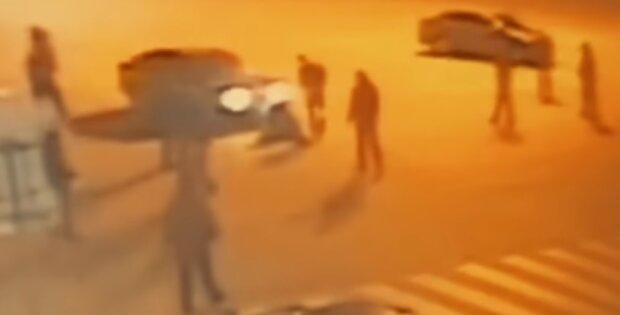 Драка в Харькове, скрин из видео