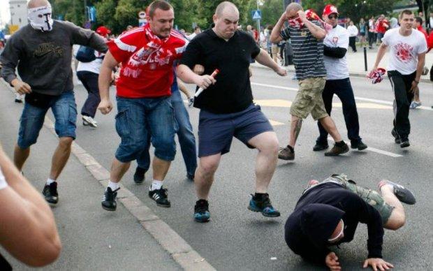 Банда російських ультрас спробувала прорватися на Лігу Чемпіонів