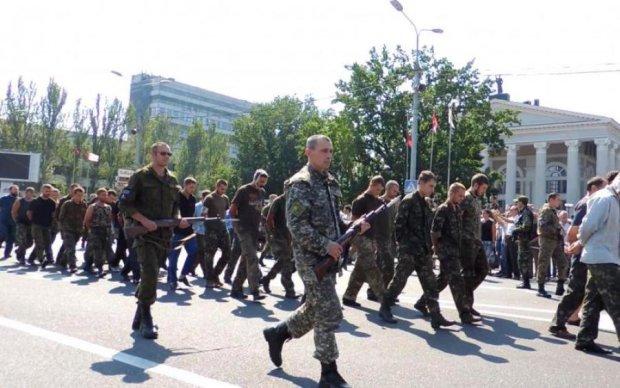 Врагу назло: над Донецком подняли символ Украины