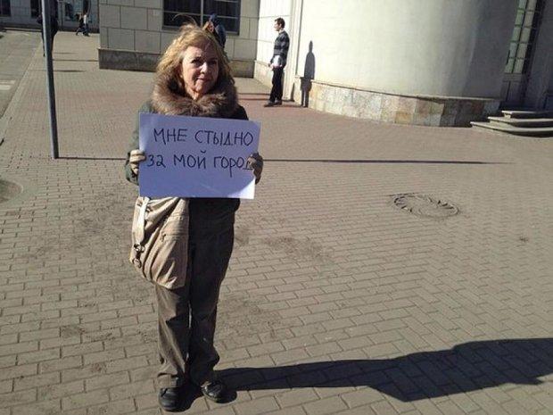 Антифашистський мітинг в Петербурзі (фото)