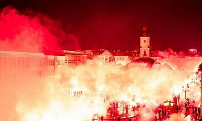 Фанати з розмахом відзначили ювілей польського футбольного клубу, tribuna.com