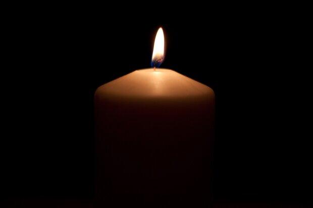 Траурная свеча, фото Pixabay