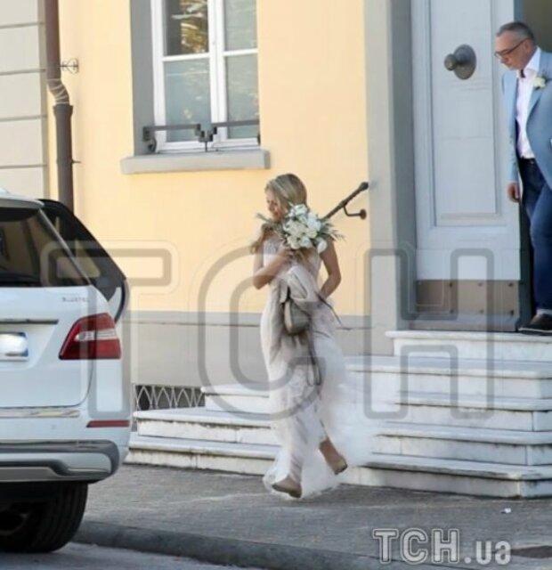 Весілля артистів, фото: ТСН