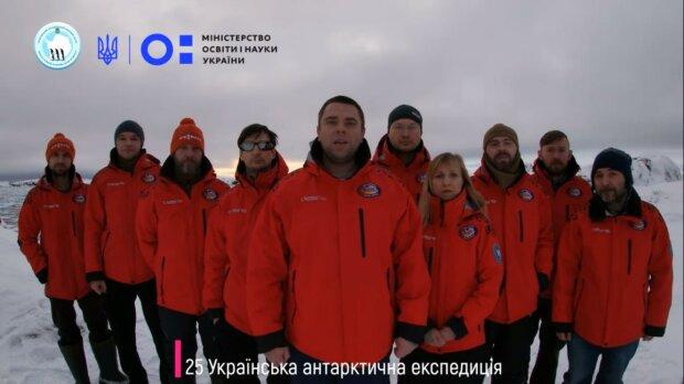 """полярники станції """"Академік Вернадського"""", скріншот з відео"""