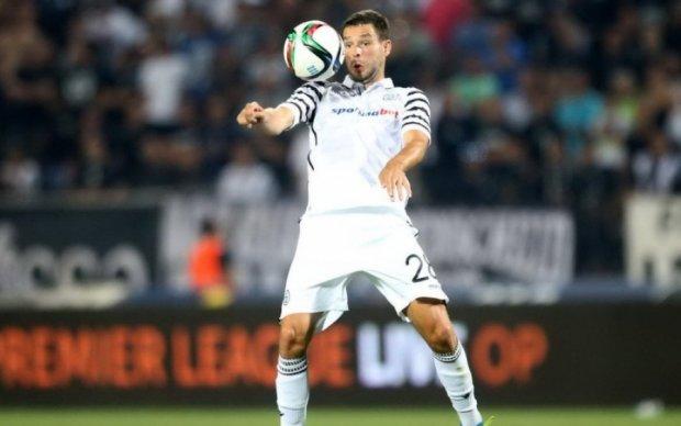 Украинец забил гол греческому гранду