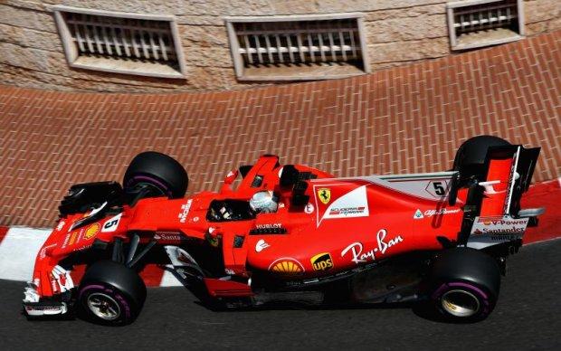 Формула-1: Феттель став найкращим у другій практиці Гран-прі Монако