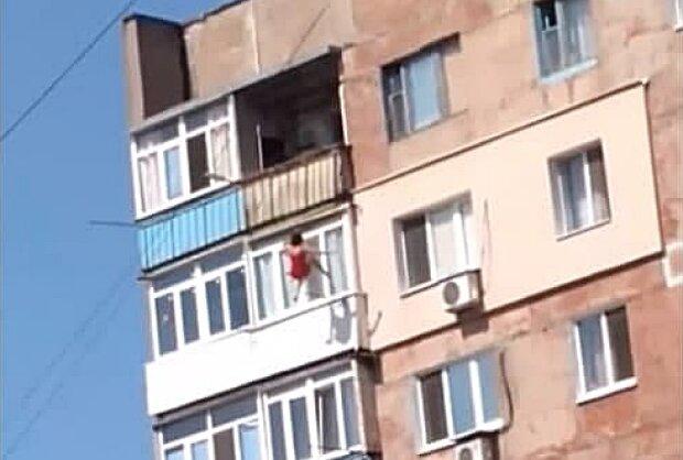 Падіння жінки, фото з dn.depo