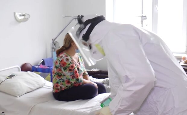 Лікарні під час пандемії, фото: кадр з відео