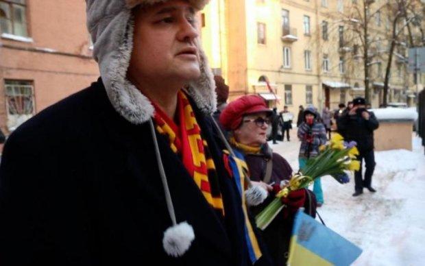 Неймовірна сміливість: в Росії пройшла акція пам'яті героїв Майдану
