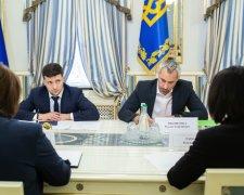 Зеленськи на зустрічі з головами Верховного та Вищого антикорупційного суду