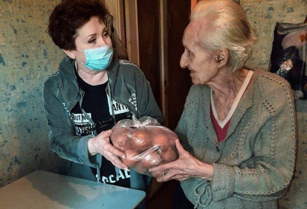 пенсіонерка, фото Блог Кривого Рогу