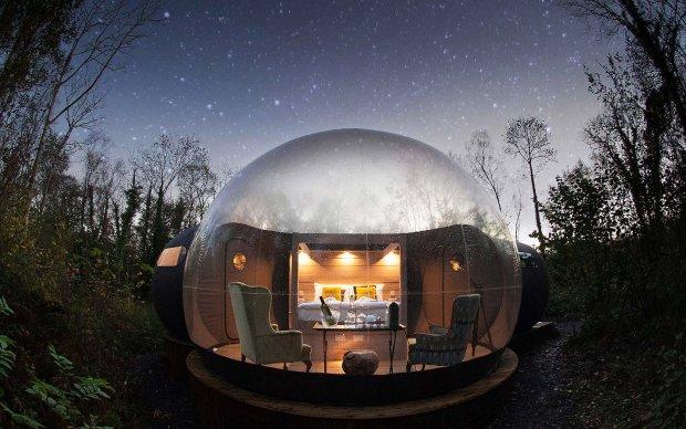 Ідея для романтичної подорожі: готель з видом на зірки