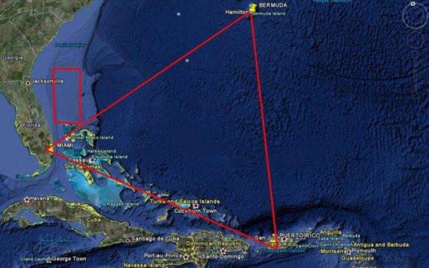 Загадочный остров всплыл со дна в Бермудском треугольнике