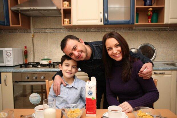 Віктор Павлік з колишньою дружиною і покійним сином, фото з Facebook