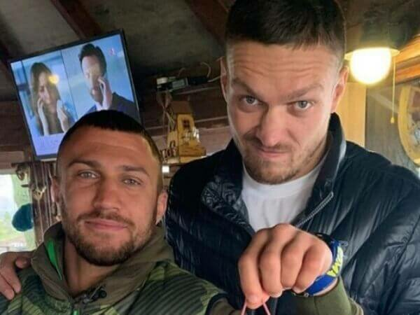 Александр Усик и Василий Ломаченко, фото: volynua
