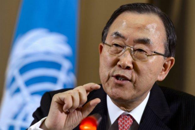 Российское вмешательство осложняет ситуацию в Сирии - генсек ООН