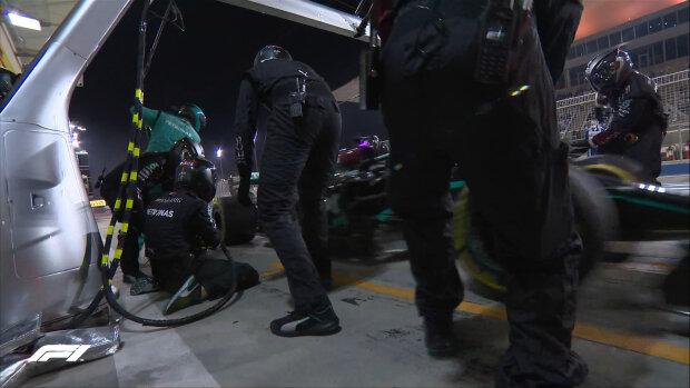 Аварія // twitter.com/F1