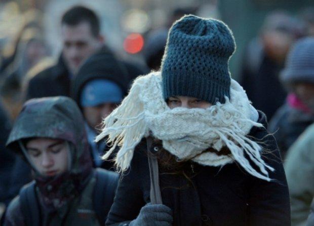 На Україну насувається 10 градусний мороз