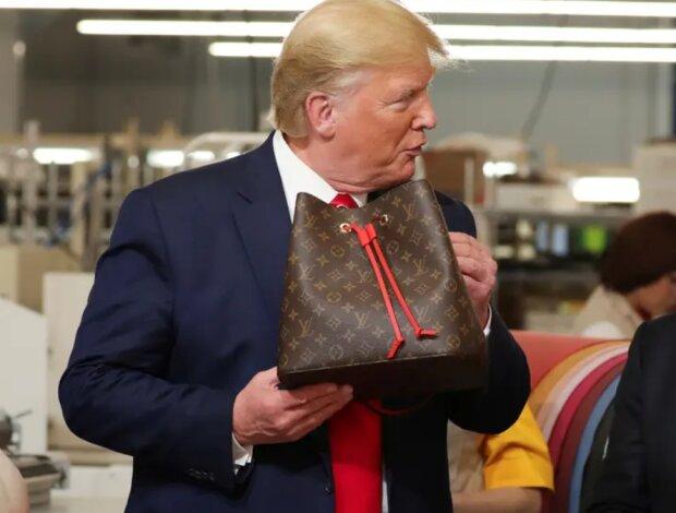 """Світ ще не відійшов від """"Моцарели"""", як Трамп знову оконфузився: усі ламають голови, хто такий """"Луї Вутон"""""""