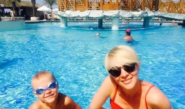 Марина Леончук показала трогательные снимки с сыном (ФОТО)