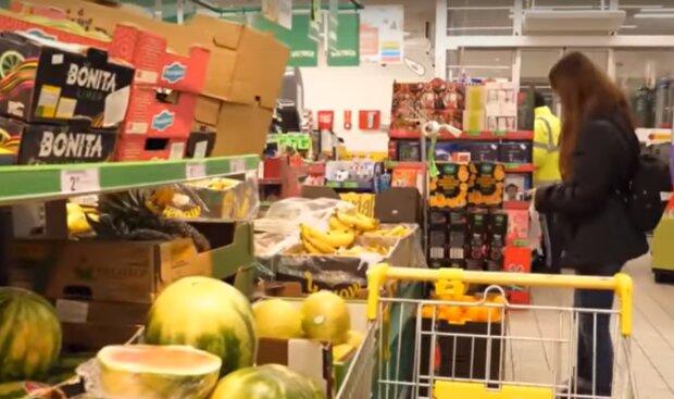 Ціни на продукти, скріншот з відео
