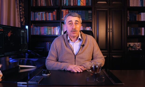 Євген Комаровський, скріншот: YouTube / Доктор Комаровський