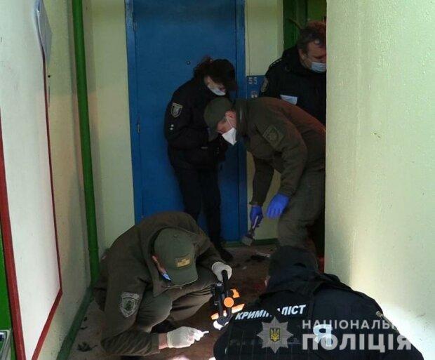 взрыв гранаты, фото: Национальной полиции