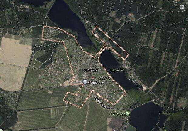 Заборье-фото google.maps