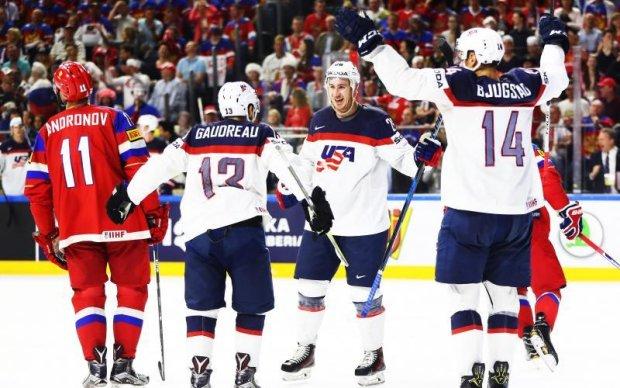 ЧС-2017 з хокею: США вирвали перемогу у Росії та посіли перше місце в групі