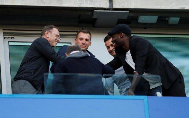 Шевченко на свой день рождения побывал на суперматче Челси - Ливерпуль