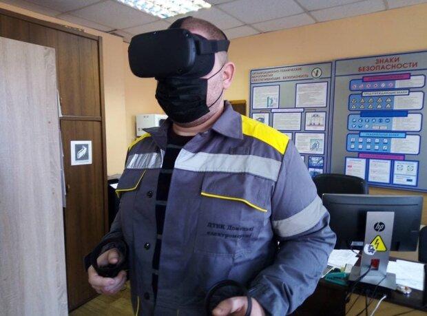 ДТЭК тестирует VR-технологии