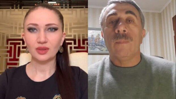 Евгений Комаровский, скриншот с видео