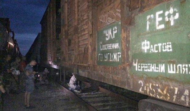 """Бійці """"Торнадо"""" затримали ешелон з вибухівкою  з""""ЛНР"""""""