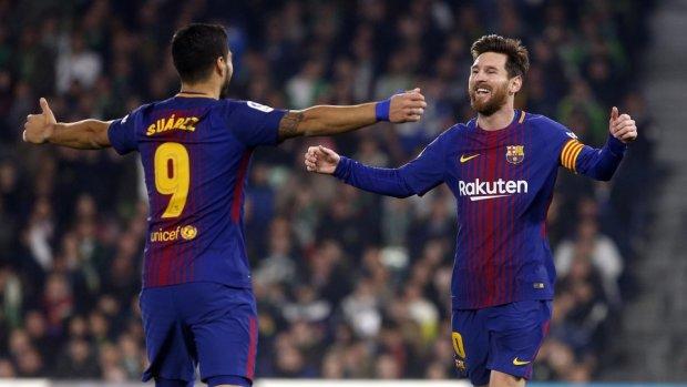 Месси и Суарес нализались вина после разгрома Барселоны в Эль-Классико