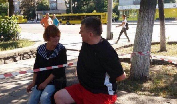Дерзкое нападение: киевлянина ограбили средь бела дня (ФОТО)