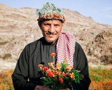 Цветочные мужчины из Саудовской Аравии
