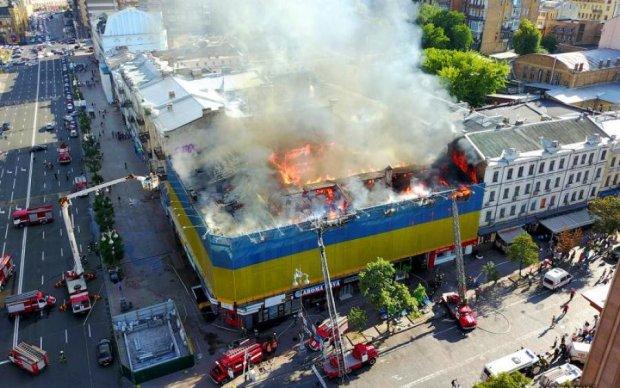 Советник Кличко дал свое заключение о пожаре на Крещатике