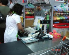 каса супермаркету