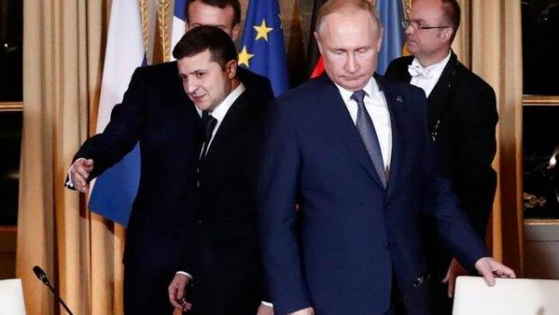 Зеленський та Путін, фото - BBC