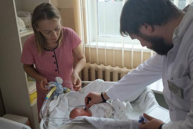 Теперь и в Чернигове появился первый аппарат для диагностики слуха у детей