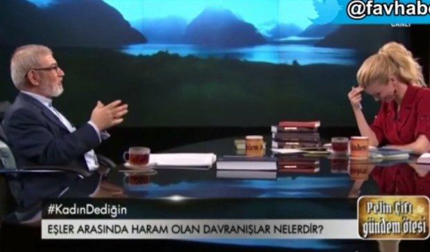 """Мусульманський богослов на ТВ розповів про """"просунутий оральний секс"""""""