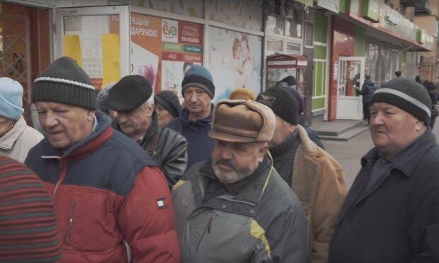 пенсионеры, скриншот из видео