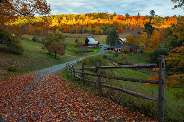 Осень в Вермонте: какие места стоит посетить